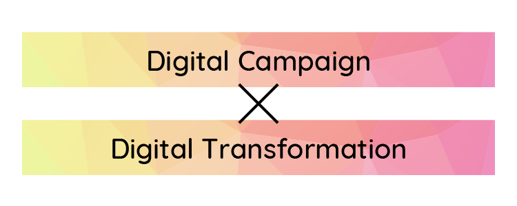 Digital Campaign x Digital Transformation
